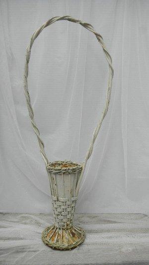 Vintage Wicker Flower Basket