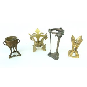 assorted gold stands