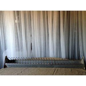 Galvanized Long Metal Tray