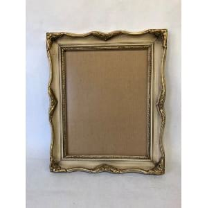 FAWN IVORY AND GOLD FRAME