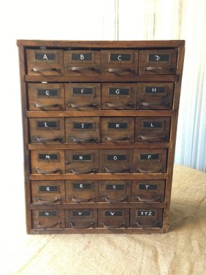 DAMIEN WOOD FILE CABINET