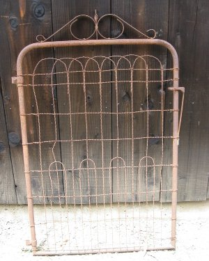 Garden Rusty Patina Gate