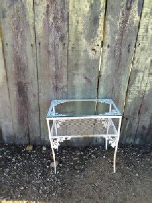 Wanda Wrought Iron Coffee Table