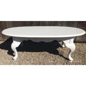 WALLIS WHITE COFFEE TABLE