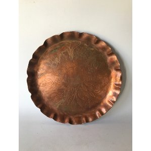 CONNOR PATTERNED COPPER TRAY
