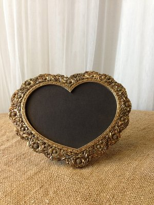 Small Chalkboard Gold Heart