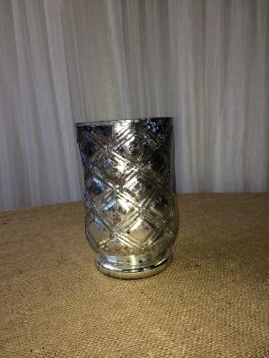 Gold Mercury Glass Vase