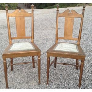 JOLIE SMALL GOLD CHAIR