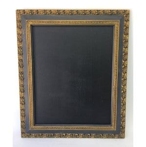 FITZ DARK GRAY AND GOLD FRAME