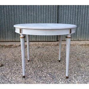HENRI ROUND GRAY TABLE