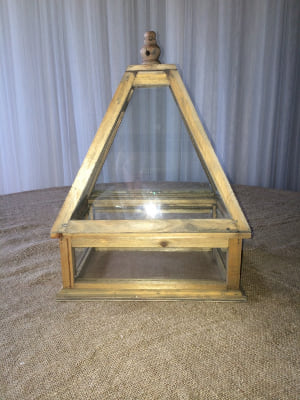 Wood Framed Terrarium