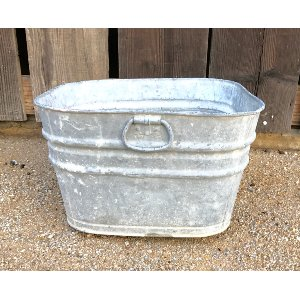 BARRY SQUARE GALVANIZED BUCKET