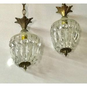 CORINNE Small hanging chandelier
