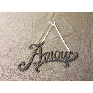 Amour Glitter Sign