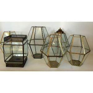 GLASS TERRARIUMS LARGE