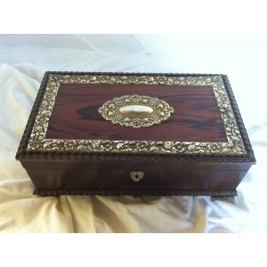 Silver Trimmed Box
