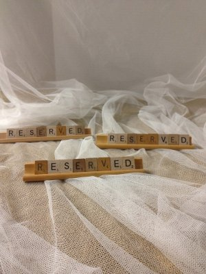 Reserved Scrabble Signs