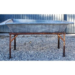 TANYA GALVANIZED TROUGH