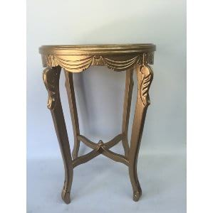 TALA GOLD SWAG SIDE TABLE