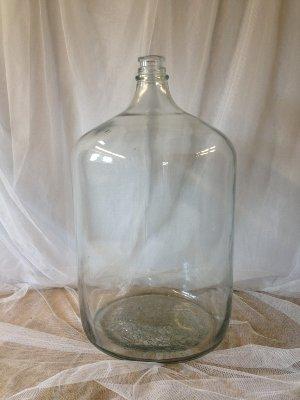 Vintage Glass Water Jug