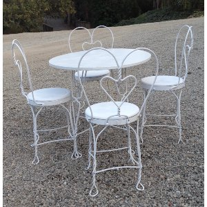 Small Childrens Table for four