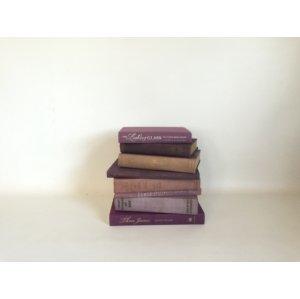 Purple/Plum Color Books