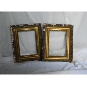 FLEUR  Gold Vintage 5x7 Frames