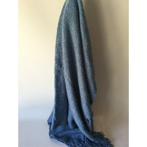 TAYLOR BLUE THROW
