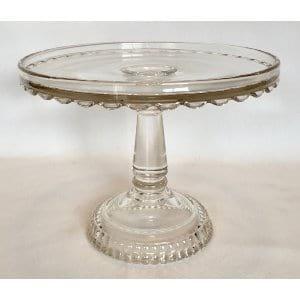 SARAH Glass cake stand 9