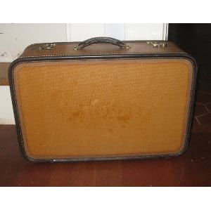 Tan Suitcase