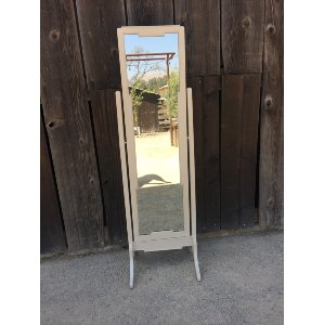 MAEVE Cream Full Length standing  Mirror