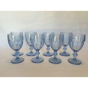 Pale Blue Goblets