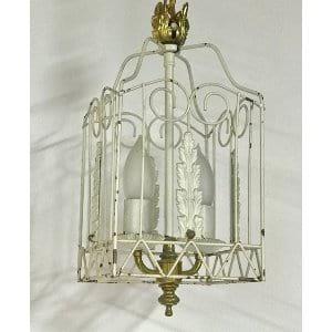 CONNIE small white chandelier