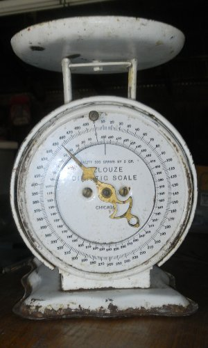 White and/or Ivory Vintage Scales