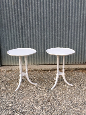 MAXWELL & MAXIMILIAN MATCHING SIDE TABLES