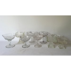 Small Glass compotes
