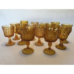 Small Gold Goblets