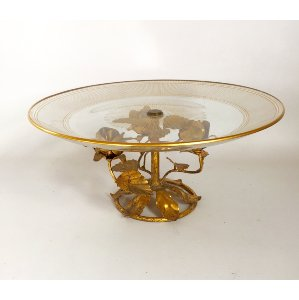 FABIANNA  GOLD ROSES CAKE STANDS