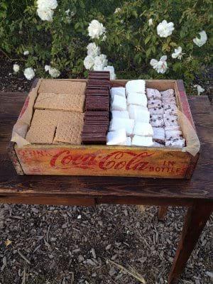 S'mores Box/ Vintage Soda Box