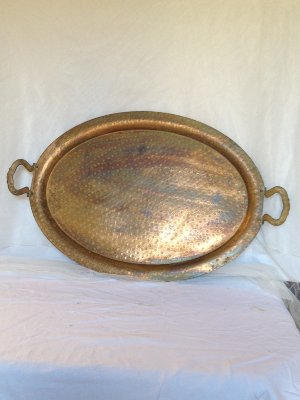 Large Copper Tray