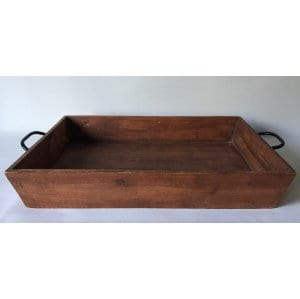 THEO LARGE TRAY WITH HANDLES