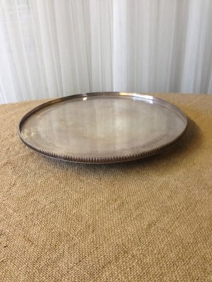 Silver Tray with feet