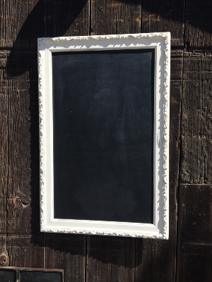 WREN LARGE WHITE PATTERN FRAME