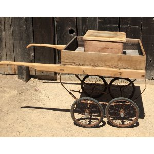 WALSH WOOD FLOWER CART