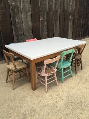 CHLOE CHILDRENS TABLE AND CHAIRS