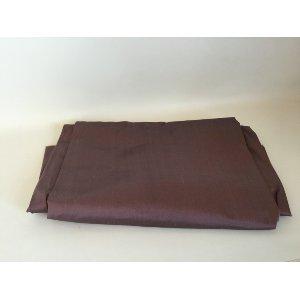 Plum dupioni silk