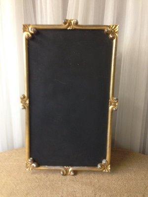Bistro Gold Chalkboard Frame