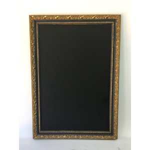 FRANK DARK GRAY AND GOLD FRAME
