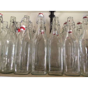 Glass Bottles with stoppers