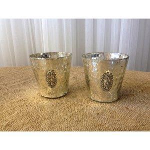 Mercury Glass Container